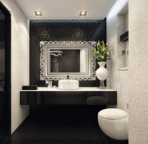 black-white-bathroom-design-by-Geometrix
