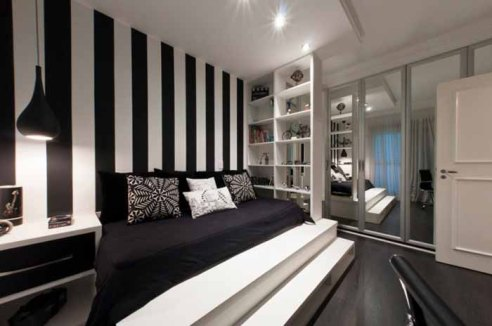 luxury-black-and-white-bedroom