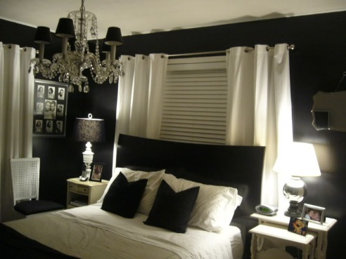 sweet-apartment-black-and-white-bedroom-design